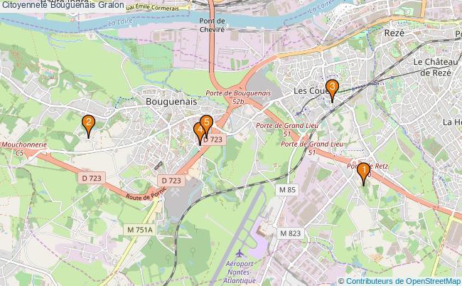 plan Citoyenneté Bouguenais Associations citoyenneté Bouguenais : 4 associations
