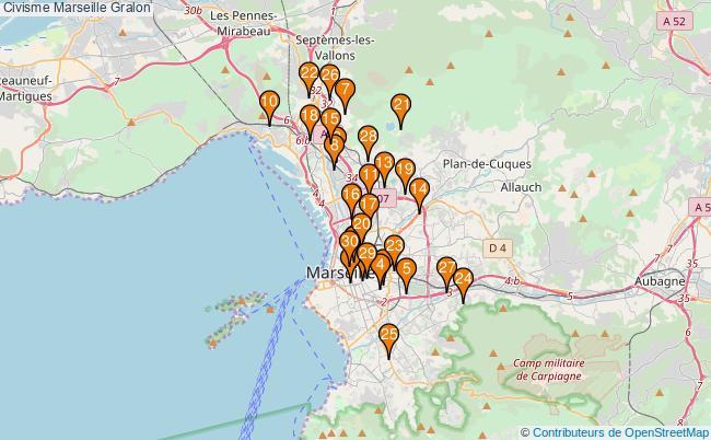 plan Civisme Marseille Associations civisme Marseille : 141 associations
