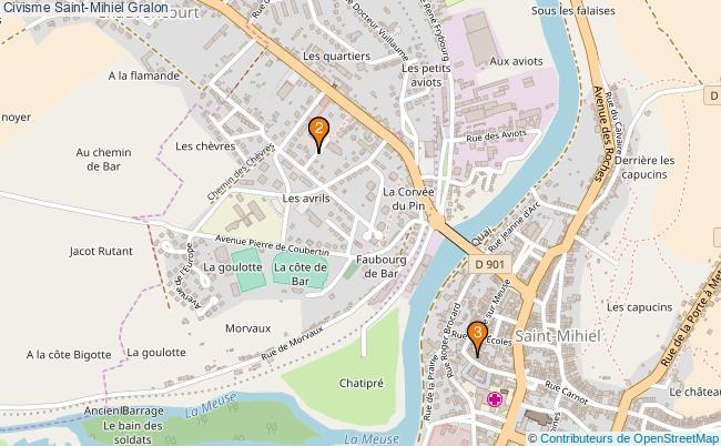 plan Civisme Saint-Mihiel Associations civisme Saint-Mihiel : 3 associations