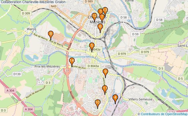 plan Collaboration Charleville-Mézières Associations Collaboration Charleville-Mézières : 15 associations