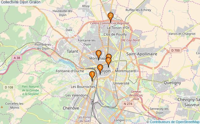plan Collectivité Dijon Associations collectivité Dijon : 7 associations