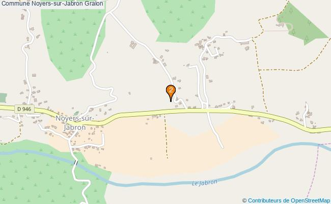 plan Commune Noyers-sur-Jabron Associations commune Noyers-sur-Jabron : 2 associations