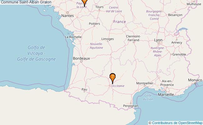 plan Commune Saint-Alban Associations commune Saint-Alban : 7 associations