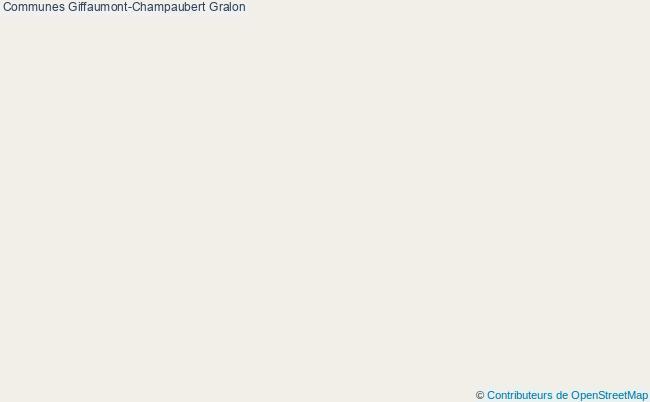 plan Communes Giffaumont-Champaubert Associations communes Giffaumont-Champaubert : 2 associations