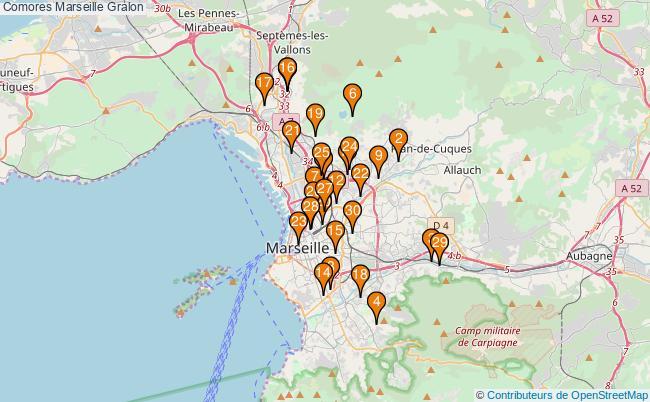 plan Comores Marseille Associations Comores Marseille : 195 associations