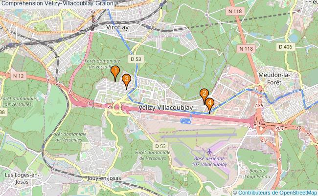plan Compréhension Vélizy-Villacoublay Associations Compréhension Vélizy-Villacoublay : 4 associations