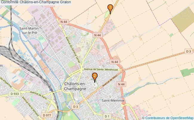 plan Conformité Châlons-en-Champagne Associations Conformité Châlons-en-Champagne : 3 associations