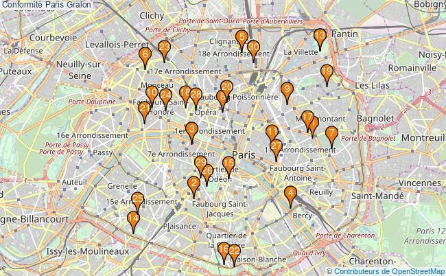 plan Conformité Paris Associations Conformité Paris : 178 associations