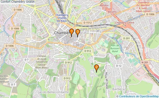 plan Confort Chambéry Associations Confort Chambéry : 3 associations