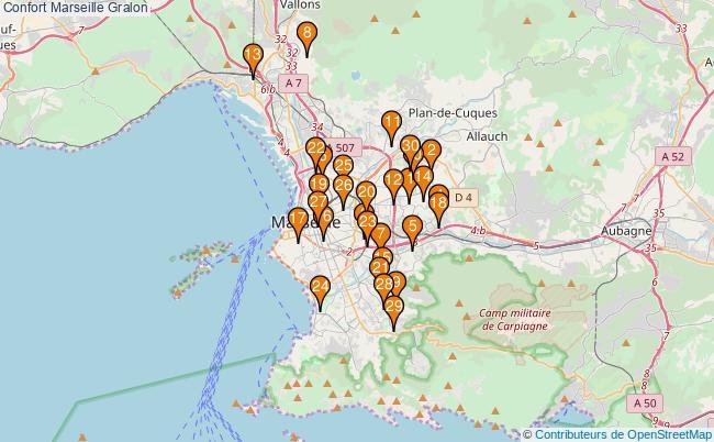 plan Confort Marseille Associations Confort Marseille : 34 associations