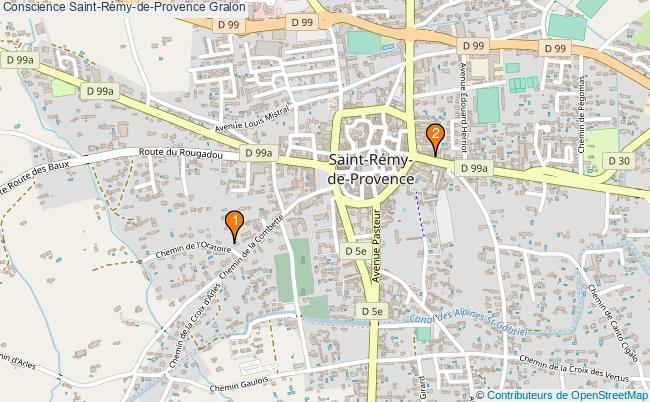 plan Conscience Saint-Rémy-de-Provence Associations conscience Saint-Rémy-de-Provence : 2 associations