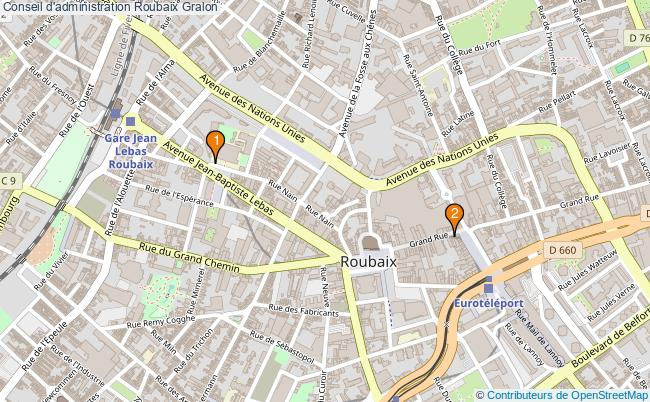 plan Conseil d'administration Roubaix Associations conseil d'administration Roubaix : 3 associations
