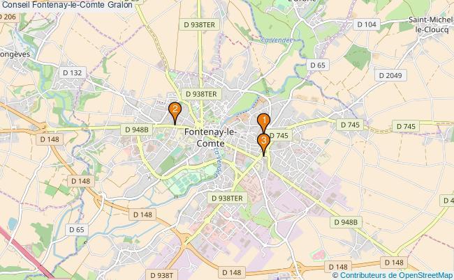 plan Conseil Fontenay-le-Comte Associations Conseil Fontenay-le-Comte : 3 associations