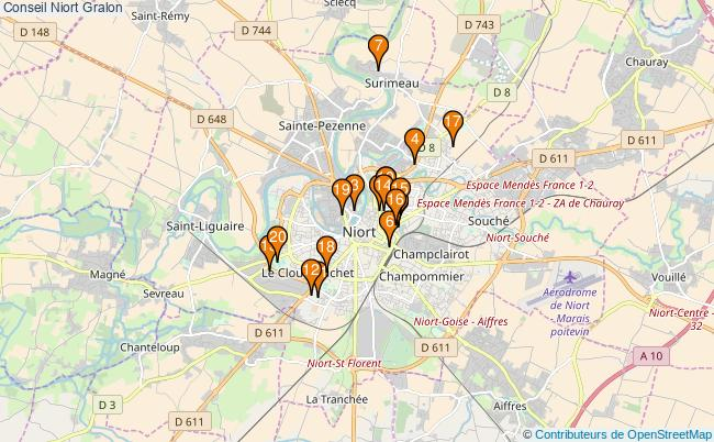 plan Conseil Niort Associations Conseil Niort : 22 associations