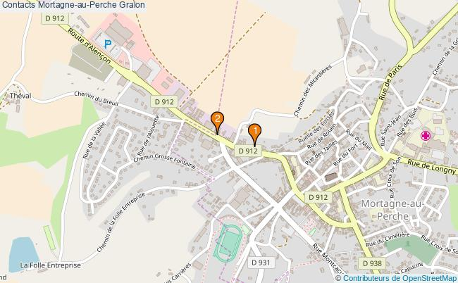 plan Contacts Mortagne-au-Perche Associations Contacts Mortagne-au-Perche : 2 associations