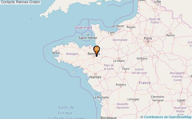 plan Contacts Rennes Associations Contacts Rennes : 37 associations