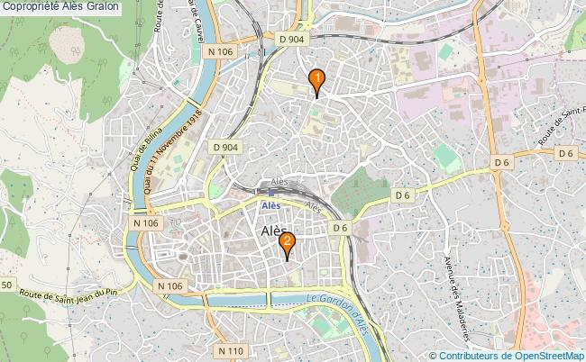 plan Copropriété Alès Associations copropriété Alès : 2 associations