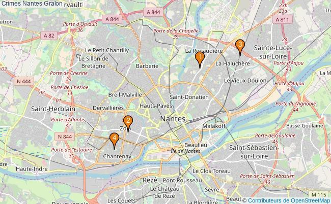 plan Crimes Nantes Associations Crimes Nantes : 4 associations