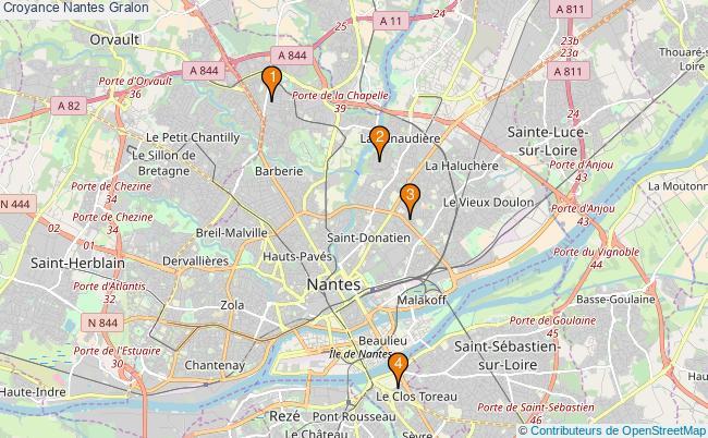 plan Croyance Nantes Associations croyance Nantes : 4 associations