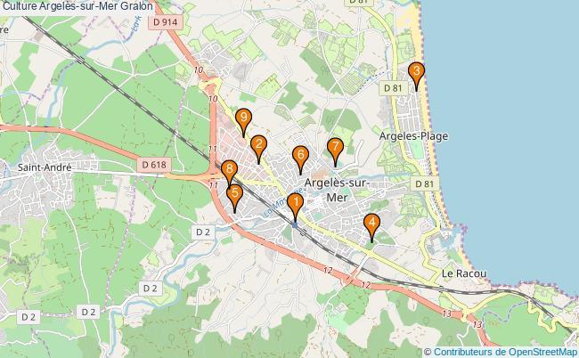 plan Culture Argelès-sur-Mer Associations culture Argelès-sur-Mer : 11 associations