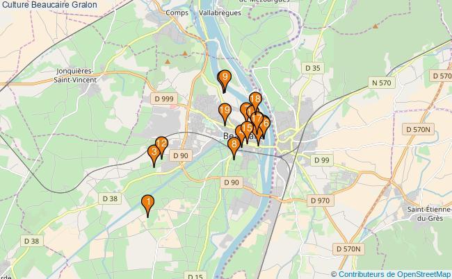 plan Culture Beaucaire Associations culture Beaucaire : 19 associations