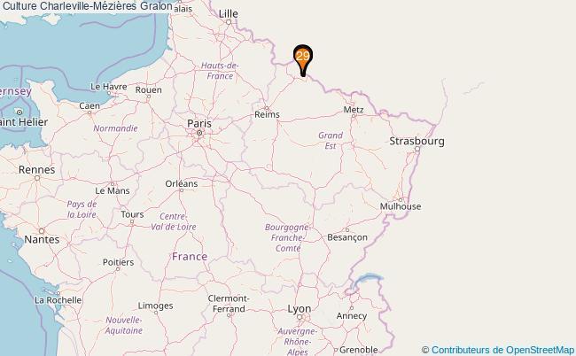 plan Culture Charleville-Mézières Associations culture Charleville-Mézières : 64 associations