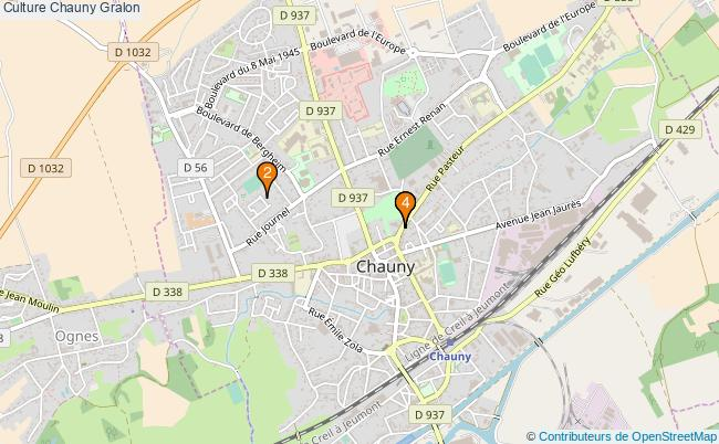 plan Culture Chauny Associations culture Chauny : 4 associations