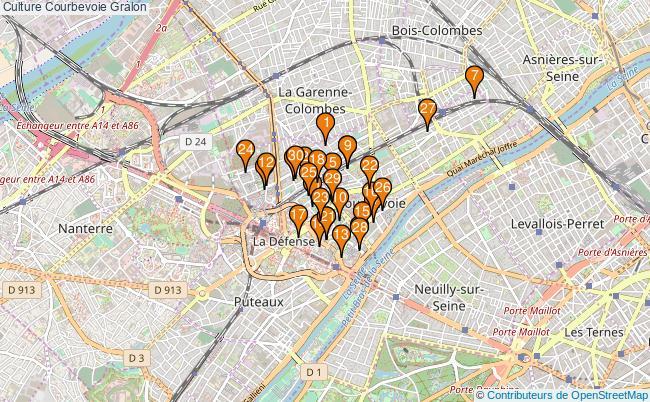 plan Culture Courbevoie Associations culture Courbevoie : 57 associations