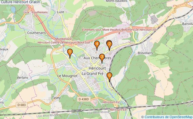 plan Culture Héricourt Associations culture Héricourt : 6 associations