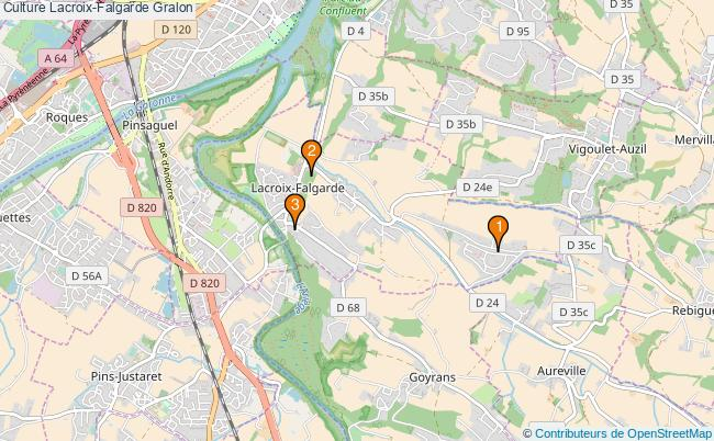plan Culture Lacroix-Falgarde Associations culture Lacroix-Falgarde : 3 associations
