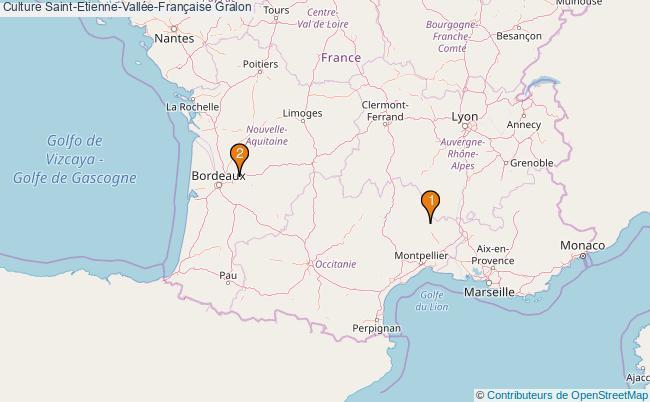 plan Culture Saint-Etienne-Vallée-Française Associations culture Saint-Etienne-Vallée-Française : 3 associations