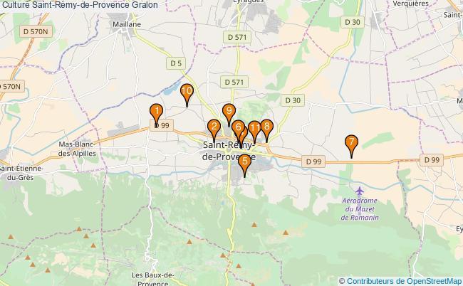 plan Culture Saint-Rémy-de-Provence Associations culture Saint-Rémy-de-Provence : 13 associations