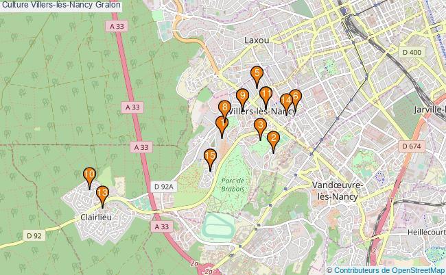 plan Culture Villers-lès-Nancy Associations culture Villers-lès-Nancy : 15 associations