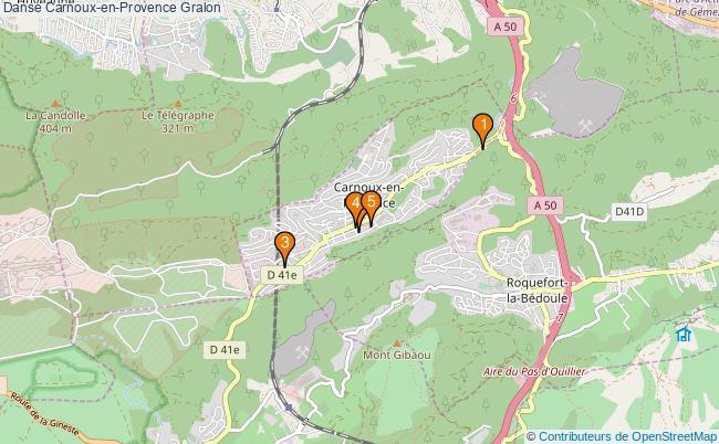 plan Danse Carnoux-en-Provence Associations danse Carnoux-en-Provence : 5 associations