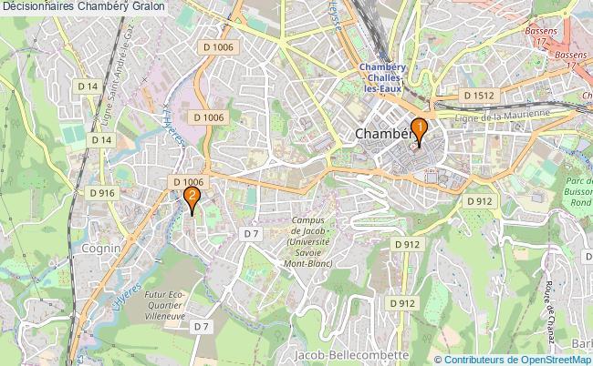plan Décisionnaires Chambéry Associations décisionnaires Chambéry : 2 associations