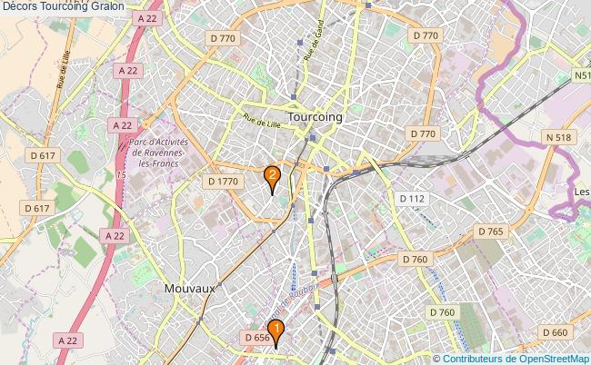 plan Décors Tourcoing Associations Décors Tourcoing : 3 associations