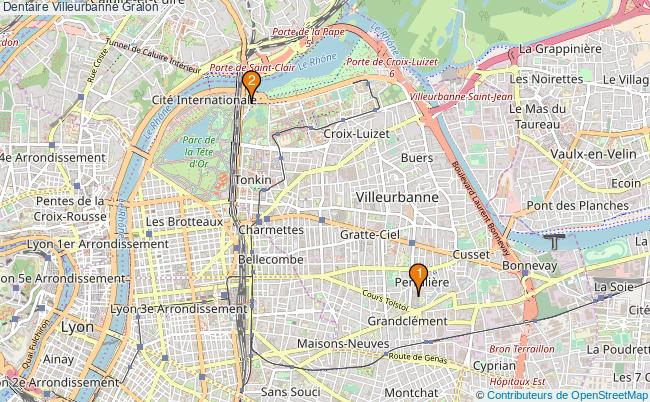 plan Dentaire Villeurbanne Associations dentaire Villeurbanne : 2 associations