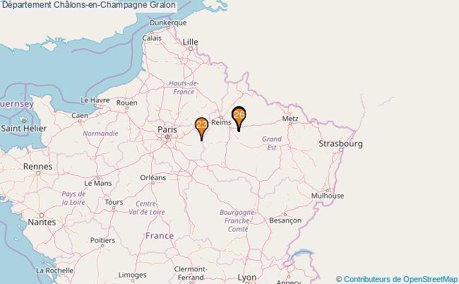 plan Département Châlons-en-Champagne Associations département Châlons-en-Champagne : 26 associations