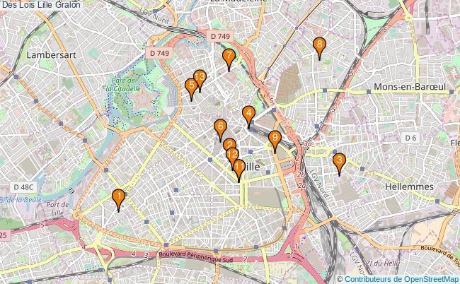 plan Des Lois Lille Associations Des Lois Lille : 17 associations