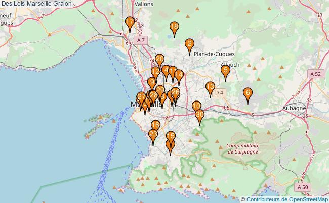 plan Des Lois Marseille Associations Des Lois Marseille : 40 associations