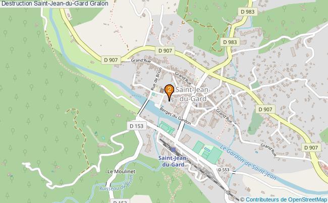 plan Destruction Saint-Jean-du-Gard Associations Destruction Saint-Jean-du-Gard : 3 associations