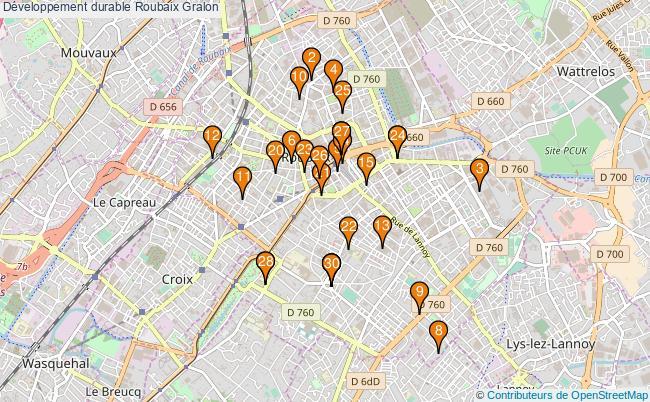 plan Développement durable Roubaix Associations Développement durable Roubaix : 52 associations