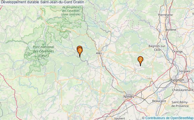 plan Développement durable Saint-Jean-du-Gard Associations Développement durable Saint-Jean-du-Gard : 3 associations