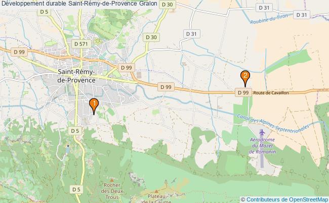 plan Développement durable Saint-Rémy-de-Provence Associations Développement durable Saint-Rémy-de-Provence : 3 associations