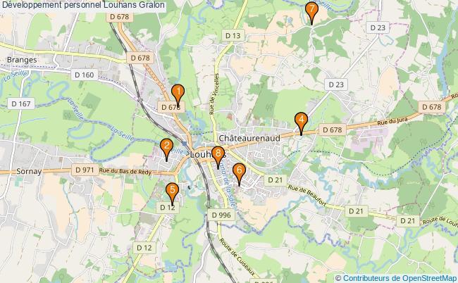 plan Développement personnel Louhans Associations développement personnel Louhans : 8 associations