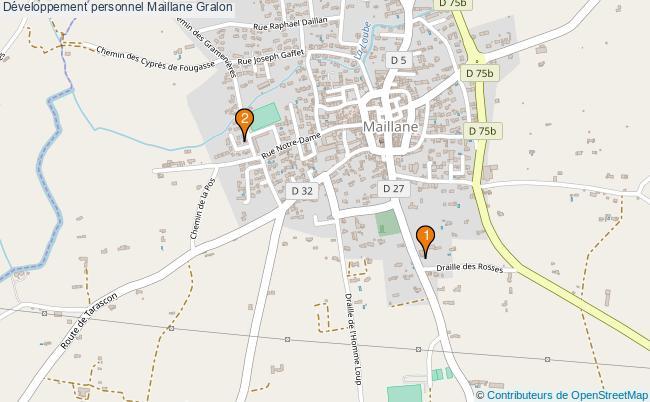 plan Développement personnel Maillane Associations développement personnel Maillane : 2 associations