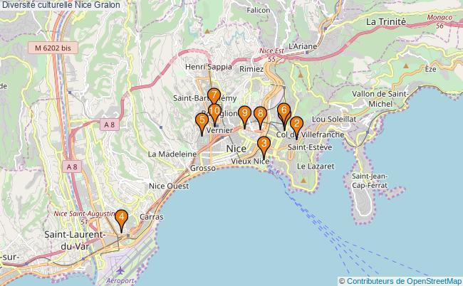 plan Diversité culturelle Nice Associations diversité culturelle Nice : 9 associations