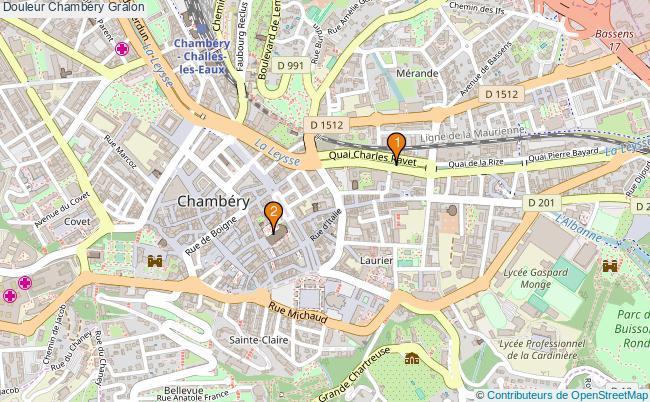 plan Douleur Chambéry Associations douleur Chambéry : 2 associations