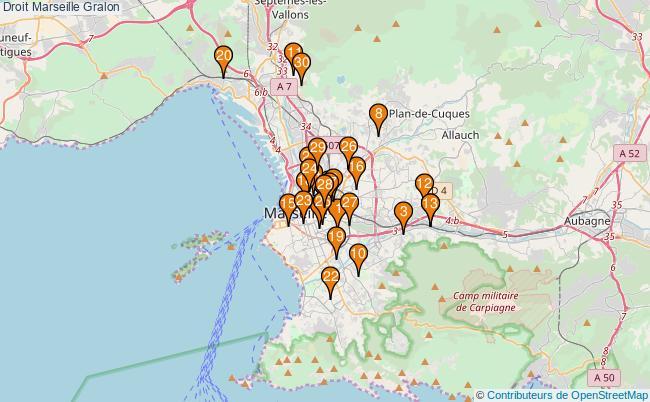 plan Droit Marseille Associations droit Marseille : 184 associations