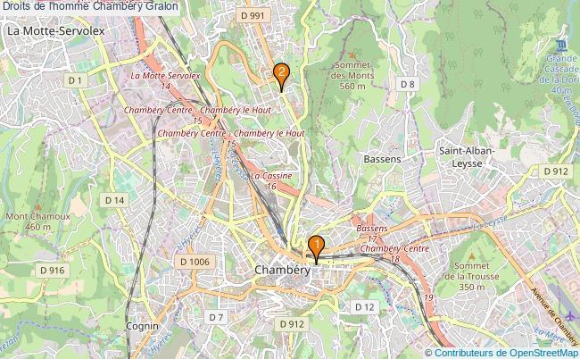 plan Droits de l'homme Chambéry Associations droits de l'homme Chambéry : 3 associations